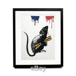 Rat N°5 by Blek le Rat Sérigraphie signée/numérotée +certificat d'authenticité