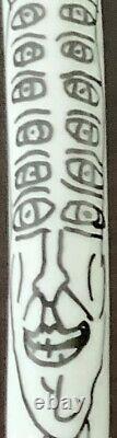 Robert Combas-Albaladejo- Figurine en porcelaine de Limoges- 1992-signée & N°