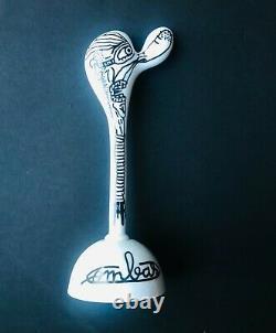 Robert Combas- Babé Gros Nez-Figurine en Porcelaine Limoges-1992-signée & N°