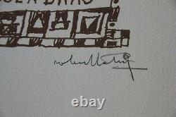 Robert TATIN 8 lithographies signées numérotées Naïssou Michel Cassé 1961