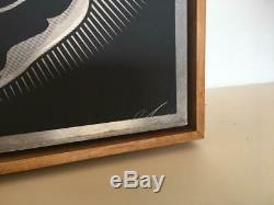SHEPARD FAIREY (OBEY GIANT) BLACK GOLD (Silkscreen on Metal 2/3)