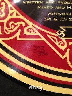 SHEPARD FAIREY SSI LP 12 vinyl signé-num/500 disque 33T sérigraphié 2 faces