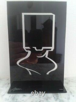 Sacha Sosno (1937 2013) Androide Tête Carrée, sculpture en plexi numérotée