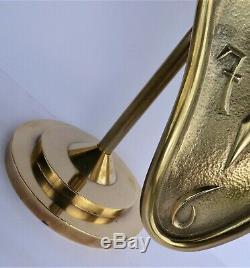 Salvador DALI(44cm)-Sculpture-Bronze-Signé-Numéroté (Picasso-Warhol-César-Koons)