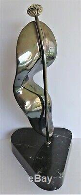Salvador DALI (60cm-15kg)-Sculpture-Bronze-Signé-Numéroté (Picasso-Warhol-César)