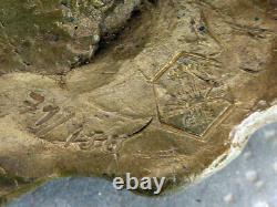 Sculpture Bronze BLASCO MENTOR TETE D'HOMME BARBU Signé Numéroté 71/150 14,5cm