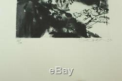 Seghers (Pierre) Eclats Gravure originale signée numérotée ZAO WOU-KI E. O