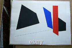 Serie 1 Serigraphie /lithographie signee de Genevieve Claisse