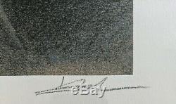 Sérigraphie originale Julia et Roem d'Enki Bilal signée / numérotée 90/301
