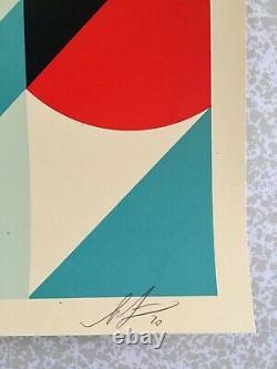 Shepard Fairey (OBEY) AR-15 Lily Sérigraphie signée et numérotée xx/550