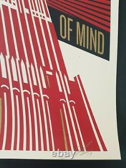 Shepard Fairey Obey, Empire State of Mind Signed numbered xxx/450