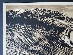 Shepard Fairey Obey, Slick new Wave signed numbered xxx/450