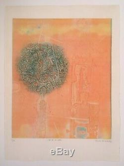 Shoichi HASEGAWA Etching signed and numbered