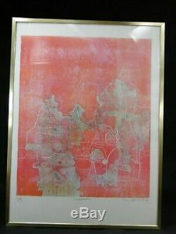 Shoichi Hasegawa Supb. Lithographie Orig. Transposition Numerotee 60/99 Signee