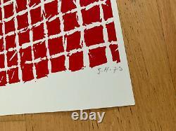 Simon HANTAÏ Tabula, 1975 / Hand signed silkscreen print