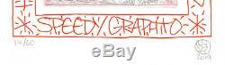 Speedy Graphito Gravure originale Lapinture / Art is life by Speedy Graphito