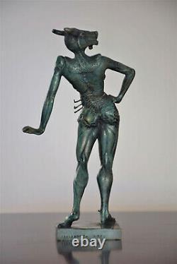 Statue le Minotaure Salvador Dali