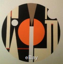 Superbe Serigraphie Originale Oeuvre Abstraite Signee Et Numerotee (11)