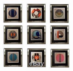 Superbe Serigraphie Originale Oeuvre Abstraite Signee Et Numerotee (27)
