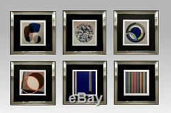 Superbe Serigraphie Originale Oeuvre Abstraite Signee Et Numerotee (4)