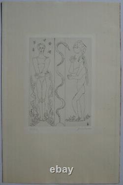 Survage Leopold Gravure Signée Au Crayon Num/270 Handsigned Numb Etching Russie