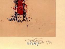 TILT sérigraphie de 2011 sign-num/50 c215/dran/aérosol/ludo/blek le rat/banksy
