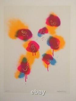 Tetsumi KUDO Sérigraphie en couleurs signée et numérotée