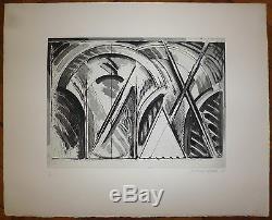 Titus-Carmel Gérard Gravure signée et numérotée art abstrait abstraction lyrique
