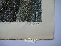 Topor Roland Lithographie 1975 Signée Crayon Num/95 Handsigned Numb Lithograph