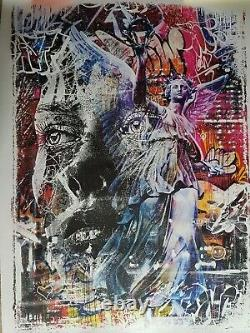 Triumph Vhils & PichiAvo Signed, numeroted & certified