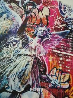 Vhils & Pichiavo Triumph Street Art (Banksy, Obey, JonOne, Koons)