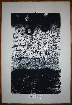 Vielfaure Jean-Pierre sérigraphie signée numérotée art abstrait abstraction