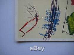Voss Jan Lithographie Originale 1984 Signé Au Crayon Hc Handsigned Hc Lithograph