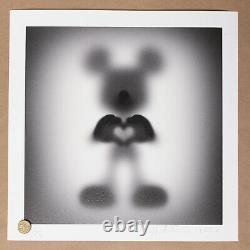 WhatsHisName Gone Mickey Share the Love Urban Art print signed numbered /75